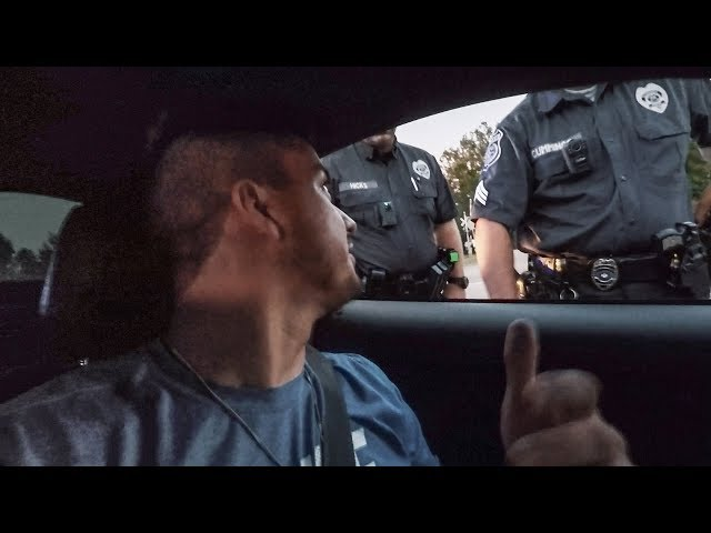Cops always stop me for nothing and I FINALLY caught it on video!!!