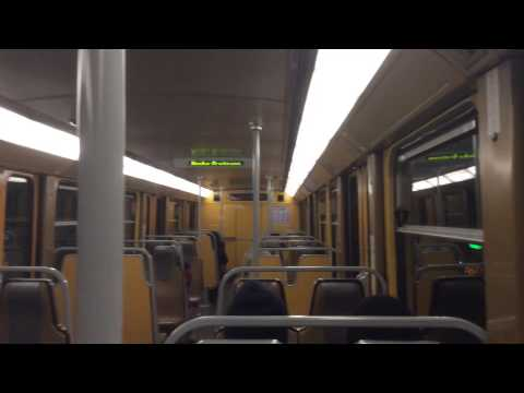 Riding the Brussels Metro Line 6 (Trip to Europe)