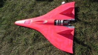 very very very fast Turbine powered RC Jet 440 MPH Speed Guinness World Record 2
