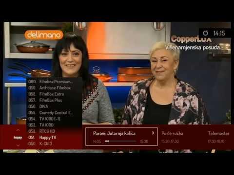 Logosoft Super TV: Osnovni + Plus + HD + FilmBox + HBO HD + Cinemax HD Paket