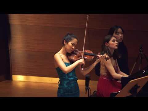 """Verena Chen (陈瑞玲) - Cesar Franck """"Sonate für Violine und Klavier"""" A-Dur Op. 120, 3/4"""