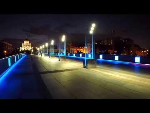 Ночной город.  Музыка Сергея Чекалина. Night City. Music By Sergey Chekalin.