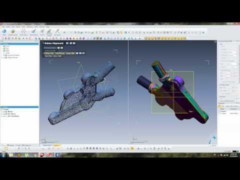 Casting Bracket - Geomagic Design X (3D Scanning Conversion) Part 01