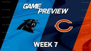 Carolina Panthers vs. Chicago Bears | Week 7 Game Preview | NFL Playbook 2017 Video