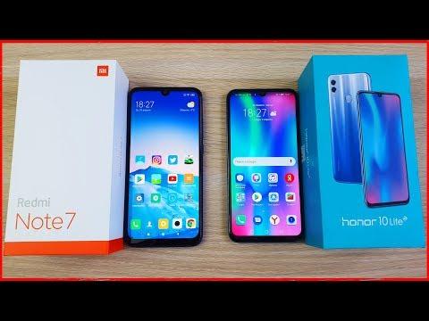 Redmi Note 7 Vs Honor 10 Lite - ЧТО ВЫБРАТЬ? ПОЛНОЕ СРАВНЕНИЕ