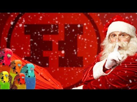 CAUTION: FOWL LANGUAGE - Let's Play Secret Santa Reveal
