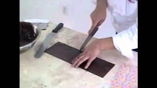 transfers para chocolate