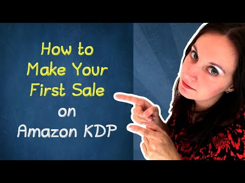 💸 How To Make Your First Sale On Amazon KDP (How To Sell Notebooks On Amazon)