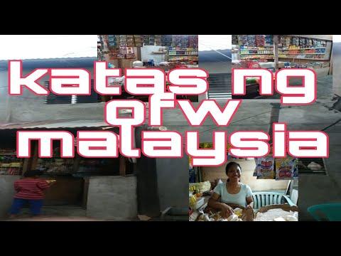 Ofw from Malaysia ano ano ganba ang naipondar ng isang ofw Malaysia 😊😊😊😊