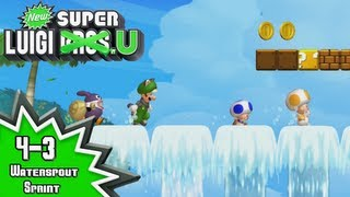 New Super Luigi U - 4-3: Waterspout Sprint
