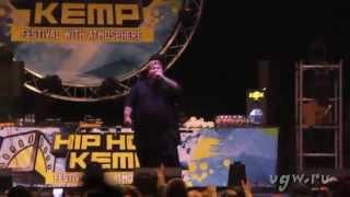 Action Bronson live @ Hip Hop Kemp 2014.08.23