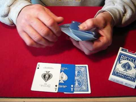 Deck Review: Bicycle Gaff Deck: The Blue Ice Deck