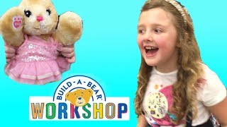 Ava's FUN Birthday Party At BUILD A BEAR WORKSHOP! The Disney Toy Collector