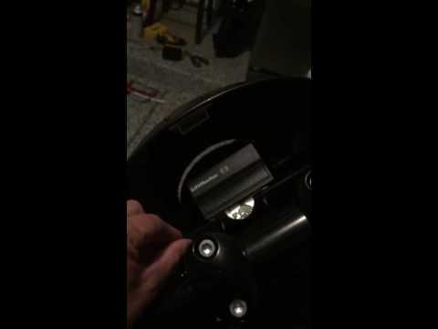 HD Dyna Quarter Fairing hidden compartment