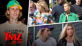 Justin Bieber & Hailey Baldwin Want God To Make Their Marriage Official | TMZ TV