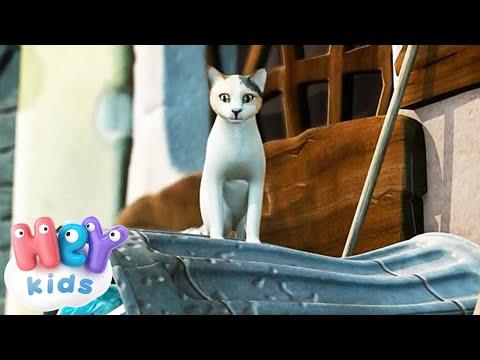 Кот усатый, озорной - Песни Для Детей .tv