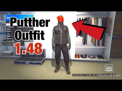 Putther YouTuber Outfit - GTA 5 Online Outfit Tutorial