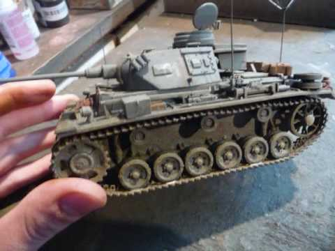 How to build a realistic tank model   YouTube