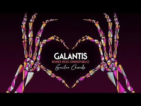 Galantis - Bones  feat One Republic  and Guitar Chords  6CAST