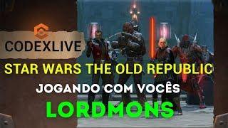 [BR] Jogando STAR WARS THE OLD REPUBLIC e Vamos conversar sobre as Polêmicas? Oferecimento ADAUTO