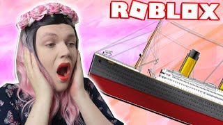 BUILDING THE TITANIC IN ROBLOX?! | Build A Boat For Treasure