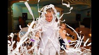 Бумажное шоу «Праздник детям.ру»