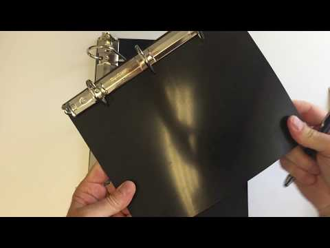 Detachable 3-Ring Binder Inserts - YouTube
