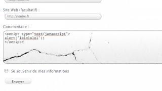 Tutoriel PHP - Sécurité, Les failles XSS