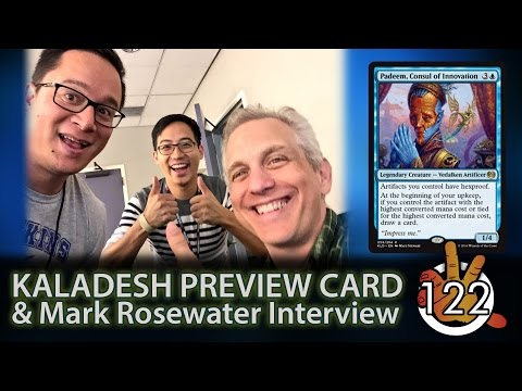 Kaladesh Preview Card + Mark Rosewater & Gavin Verhey PAX Interviews! | The Command Zone #122