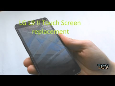 LG L9 II Touch Screen (Digitizer) Replacement