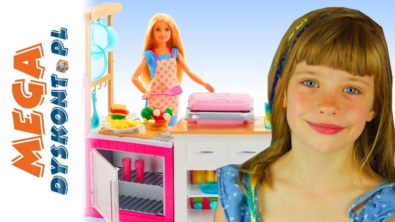 Barbie Idealna Kuchnia Zabawa W Gotowanie