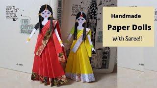 #HowtoMakePaperDoll  #handcraft  #PaperCraftIdeas  Handmade Paper Doll DIY  | Aloha Crafts