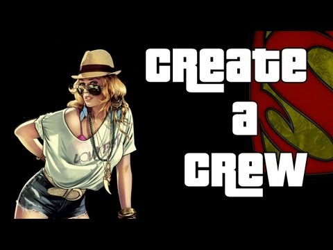 How To Create A GTA V Crew (GTA 5)