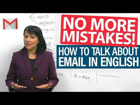 How To Say Your Email Correctly In English + More