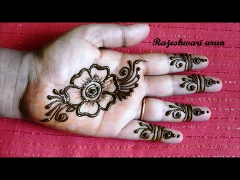 Simple Arabic Henna Mehndi Designs For Hands For Beginners Mehndi