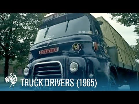 Truck Drivers: How to Drive a Lorry Properly (1965) | British Pathé