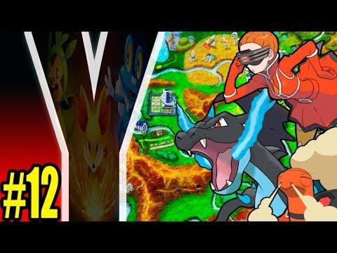Pokémon Y - Parte 12 : [2h] Mega X, Quarto Ginásio e Power Plant