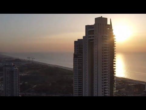 ISRAEl Drone Footage BAT YAM City