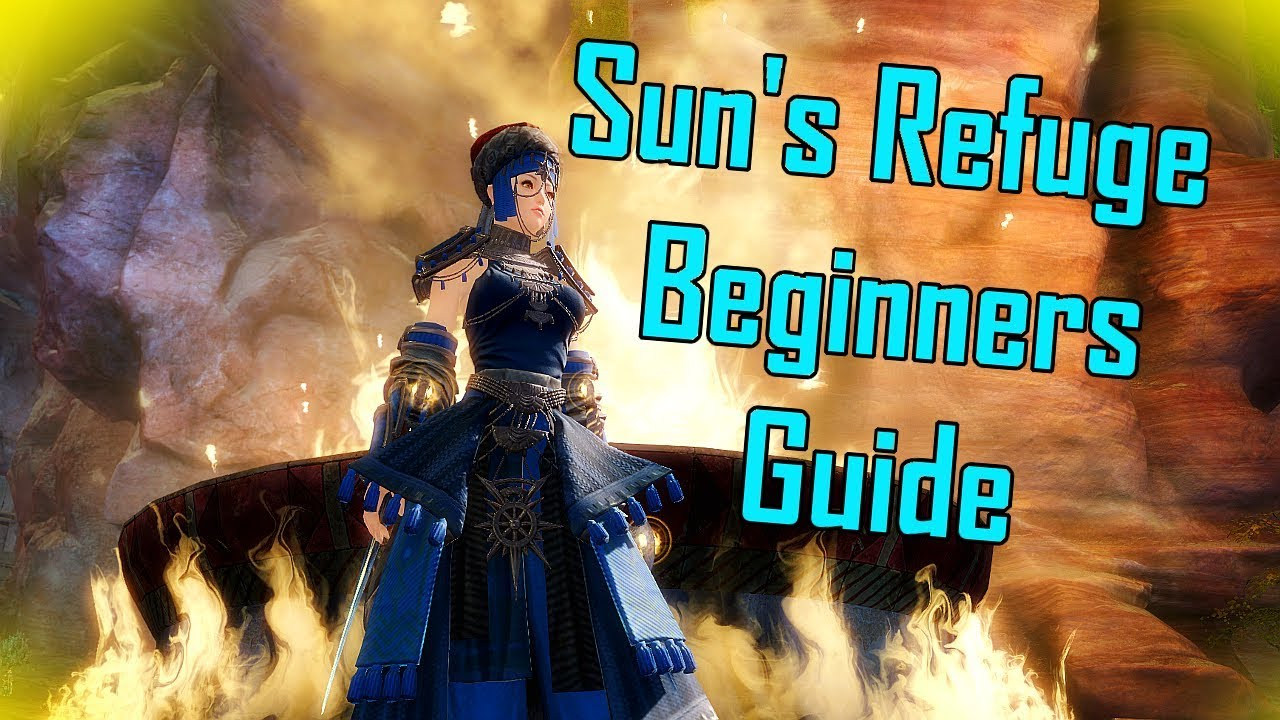 Guild Wars 2 - Beginners Guide to Sun's Refuge l Collections & Upgrades l