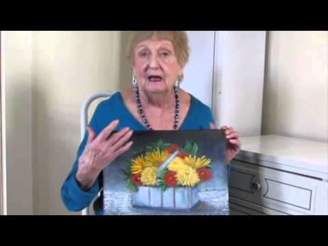 Aunt Terrry's Painting Tips -  Her 90th Painting