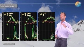 aktuelle Wettervorhersage für Fronleichnam, 11. Juni: Luftmassenaustausch bringt kurz Hochsommer!