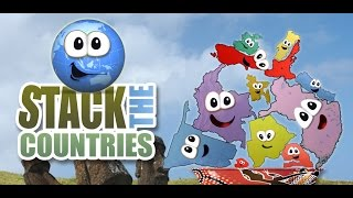 Stack the Countries - HAVE FUN LEARNING ALL ABOUT THE COUNTRIES OF THE WORLD