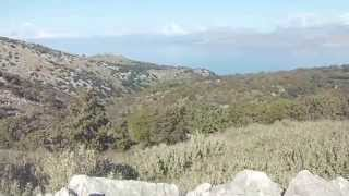KCTV winter walk, on Corfu, Korfu Kerkyra with Spectacular views