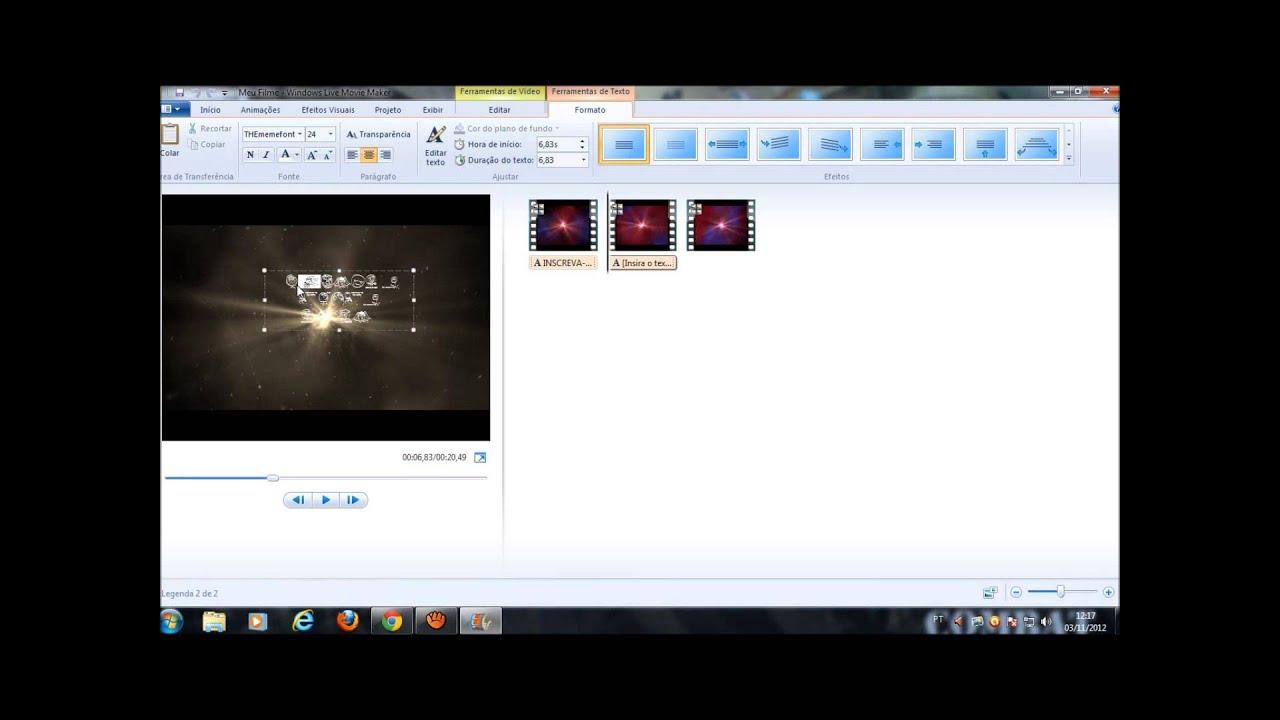 Fazer Video No Movie Maker Online