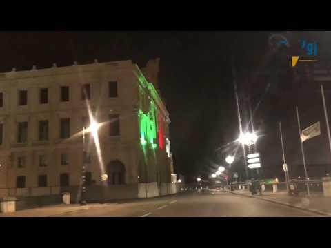 #كورونا : شاهد كيف تبدو العاصمة بعد ساعة من حظر التجوال 01 04 2020