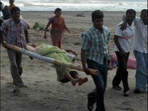 TSUNAMI VICTIMS NOT FOR THE FAINT-HEARTED