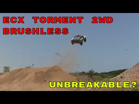 Brutal Jumping & Bashing - ECX Torment 2WD Short Course Truck
