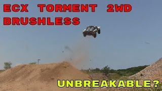 Video Brutal Jumping & Bashing - ECX Torment 2WD Short Course Truck download MP3, 3GP, MP4, WEBM, AVI, FLV Januari 2018