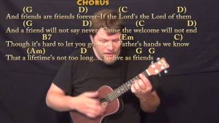 Friends Are Friends Forever - Ukulele Cover Lesson with Chords/Lyrics
