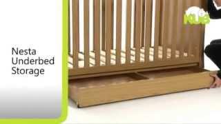 KUB Nesta Nursery Room Set - Features Demonstration Video   Nursery Furniture Store